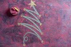 Small Christmas tree Stock Image
