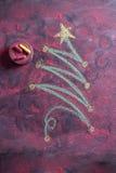 Small Christmas tree Royalty Free Stock Photography
