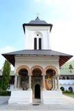Small Church. Within The Sinaia Monastery In Romania Stock Photos