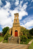 Small church. A small sandstone church in the town of Clarens, South Africa Royalty Free Stock Photos