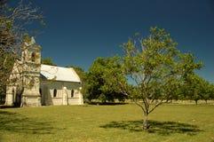 Small church. In the farm. Uruguay Royalty Free Stock Image