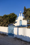 Small church in Antiparos island, Cyclades Royalty Free Stock Photos