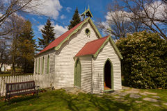 Small church in Arrowtown ,New Zealand Stock Photo