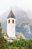 Small church in Austrian Alps Royalty Free Stock Image