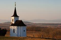 Small Church and Balaton Royalty Free Stock Photo