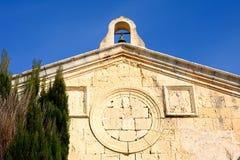 Small church bell tower, Mdina. Royalty Free Stock Photo