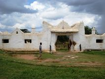 Dirre Sheikh Hussien shrine. (mosque) in Bale, Ethiopia Royalty Free Stock Photo