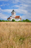 Small church in the countryside Stock Photography