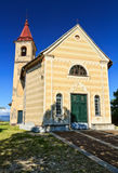 Small church in Crecefieschi Stock Photos
