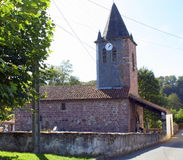 Small church.France Royalty Free Stock Images