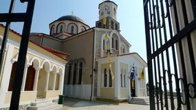 A small church in Greece Royalty Free Stock Photos