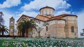 a small church greece Royalty Free Stock Photography