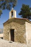 Small church on greek island crete - greece Stock Photo