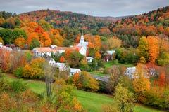 Free Small Church In Topsham Village In Vermont Stock Photos - 112388913