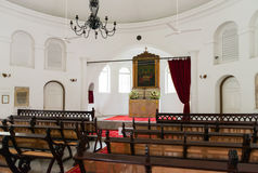 Small church interior Royalty Free Stock Photos