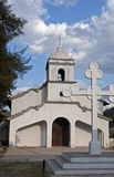 Small church, Hermita, in Ojojona, Honduras. Royalty Free Stock Photo
