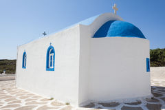 Small church. In Kos island, Greece Royalty Free Stock Photography