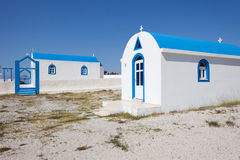 Small church. In Kos island, Greece Stock Image