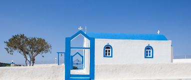 Small church. In Kos island, Greece Royalty Free Stock Photos