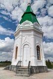 Small Church in Krasnoyarsk Stock Photos