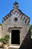 Small church at Lopud Island. Photo of a Small church at Lopud Island - Elaphiti Islands - Dubrovnik - Croatia - July 2010 Royalty Free Stock Photos