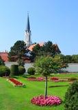 Small church near Schonbrunn Stock Photos