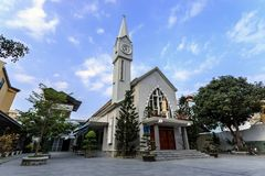 Small Church in Nha Trang, Vietnam Royalty Free Stock Photos