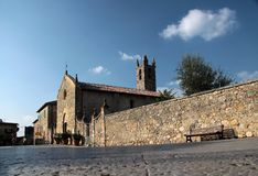 Free Small Church Of Monteriggioni Royalty Free Stock Images - 14426179