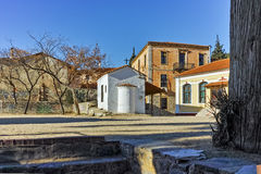 Small Church in old town of Xanthi, East Macedonia and Thrace Stock Images