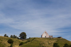Free Small Church On A Hill Stock Photos - 57953443