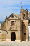 Small church in Osuna, Spain Royalty Free Stock Image