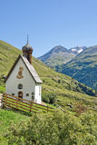 Small church in Otztal Stock Images