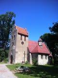 Small church in Poland, Pieszcz village Stock Photos