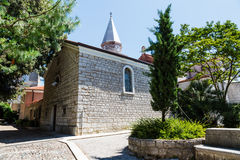 Small Church in the Resort of Opatija Royalty Free Stock Image