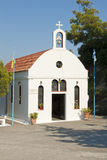 Small church on Rhodes Royalty Free Stock Image