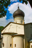 A small Church in Russia in the summer Royalty Free Stock Photography