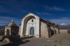 Small church Sajama National Park, Bolivia Stock Image
