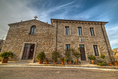 Small church in Sardinia Royalty Free Stock Images