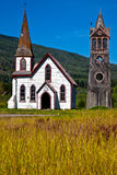 Small church. Somewhere in British Columbia, Canad Royalty Free Stock Photography