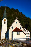 Small church in sping Stock Photos