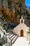 Small church of St. Nicholas in Crete Stock Photo