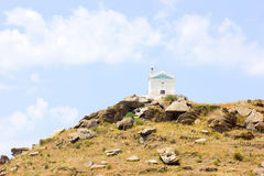 Small church in Tinos Island,Greece Royalty Free Stock Images