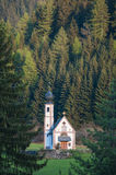 Small church in Tyrol region of Italy Royalty Free Stock Image