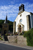 Small church in vilage Stock Image