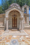 Small church in village on Cyprus Royalty Free Stock Images