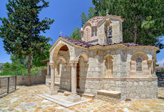 Small church in village on Cyprus Royalty Free Stock Photo