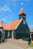 Small church of the village De Woude Stock Photo