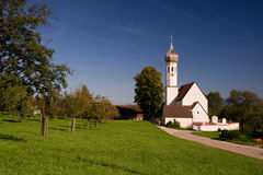 Small church in a village Stock Photos