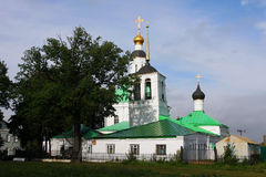 Small church in Vladimir Royalty Free Stock Photography