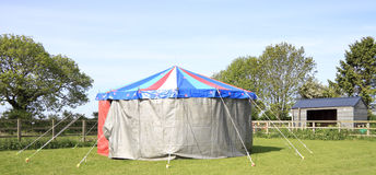 Small circus tent Royalty Free Stock Images
